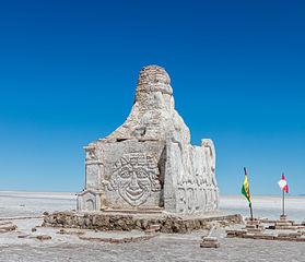 Monumento al Dakar, Salar de Uyuni, Bolivia, 2016-02-04, DD 46