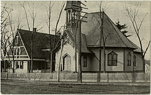 Moosic, Pennsylvania - Image: Moosic PA Presby PHS379