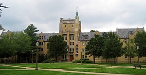 Morrissey Hall (University of Notre Dame) - Morrissey Hall
