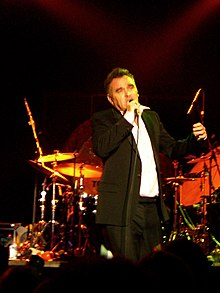 Morrissey Live at SXSW Austin in March 2006.jpg