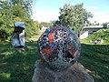 Mosaic Sphere by György Urbán, Sculpture Park, 2020 Sárospatak.jpg