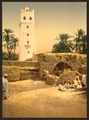 Mosque in the old town, Biskra, Algeria-LCCN2001697851.tif
