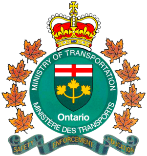 Ministry of Transportation of Ontario Government ministry in Ontario