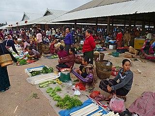 Muang Sing District & municipality in Laos