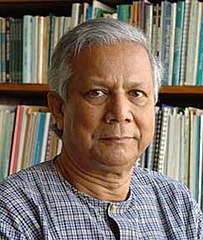 Mohammad Yunus, 2006 Nobel Peace Prize Winner (Image from Wikimedia Commons)