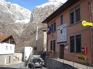 Lozio - the Town Hall