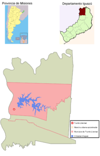 Puerto Libertad Municipality and village in Misiones Province, Argentina