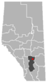 Munson, Alberta Location.png