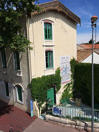 Charles Trenet - The house where Charles Trenet was born, in Narbonne (Aude), France, now opened to visitors.
