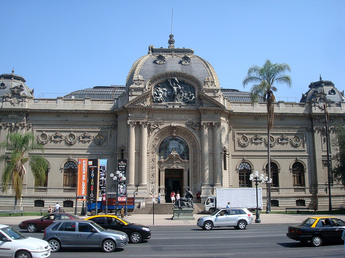 Museo nacional de bellas artes chile wikipedia la for Universidad de arte