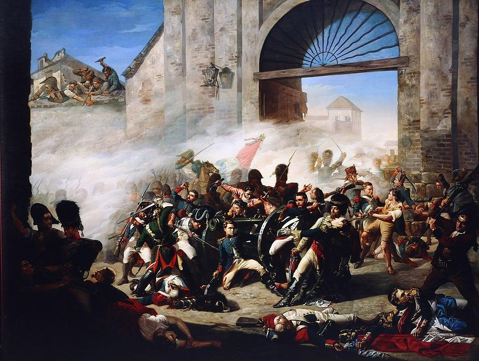 Museo de Historia de Madrid-19409-Muerte de Daoiz y defensa del Parque de Monteleón