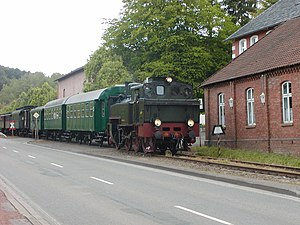Umbau-Wagen - Image: Museumseisenbahn 1