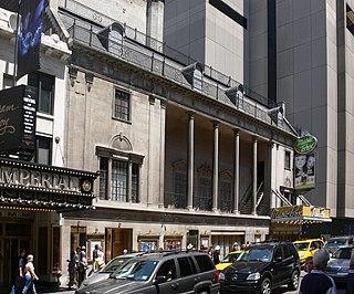 Broadway theatre in Manhattan