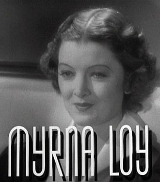 After the Thin Man - Image: Myrna Loy in After the Thin Man trailer