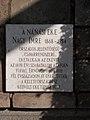Nánási eke, Nagy Imre (1868-1954) emléktábla, Bocskai utca 13 előtt, 2017 Hajdúnánás.jpg