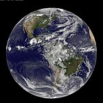 NASA GOES-13 Full Disk view of Earth May 28, 2010 (4647159387).jpg