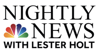<i>NBC Nightly News</i> Flagship daily evening television news program for NBC News