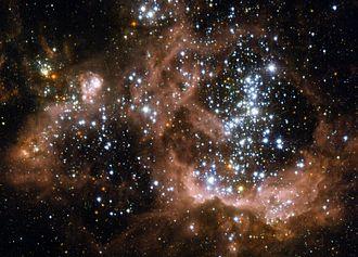 NGC 604 - Image: NGC 604 Hubble