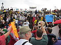 NOLA BP Oil Flood Protest No Crabs 4 Oil.JPG