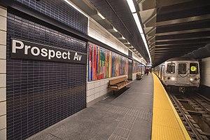 Prospect Avenue (BMT Fourth Avenue Line) - Southbound platform