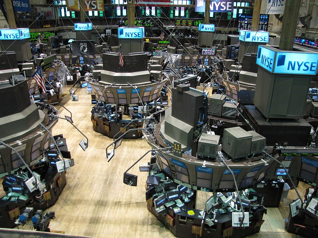 Image result for stock exchange floor pics images