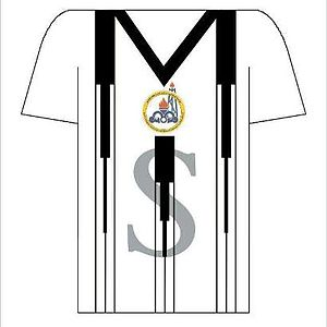 Naft Masjed Soleyman F.C. -  Designed shirt in season 2014–15. The letters MIS are short for the city name.