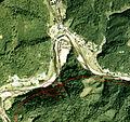 Nagaramae station map.jpg