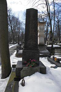 Narcyza Żmichowska (grób) 1.JPG