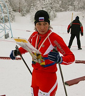 Natalia Tomilova orienteer
