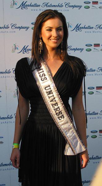 Natalie Glebova - Glebova at an event in August 2005