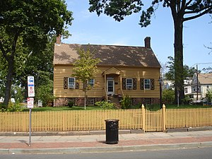 Belcher-Ogden Mansion-Price, Benjamin-Price-Brittan Houses District - The Nathaniel Bonnell House in fall 2011