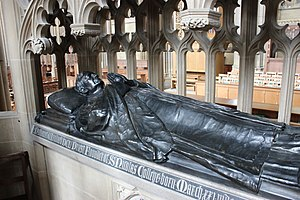 Nathaniel Woodard - Tomb of Nathaniel Woodard in Lancing College Chapel