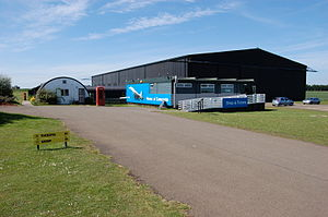 National Museum of Flight - The entrance to the Museum of Flight
