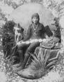 Navajo silversmith with examples of his work and tools, 1880 - NARA - 518913.tif