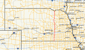Nebraska Highway 14 - Image: Nebraska Highway 14 map