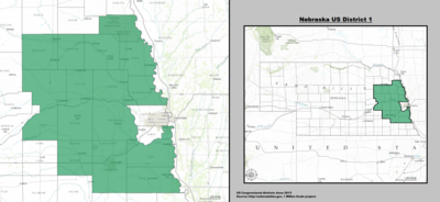 Nebraskas Congressional Districts Wikipedia - Us house of representatives oklahoma district map