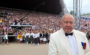 Neeme Järvi - Neeme Järvi at Estonian Song Festival in 2009