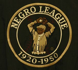 Negro - An emblem of the US Negro league baseball.