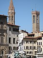 Neptune and Towers in Firenze - panoramio.jpg