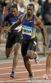 Nesta Carter Jamaican sprinter