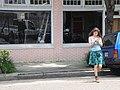 New Olreans CBD - Young woman on Baronne Street.jpg
