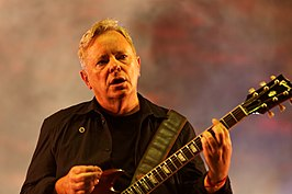 Bernard Sumner in 2012