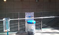 New recycle bins at DLR station 2011.jpg
