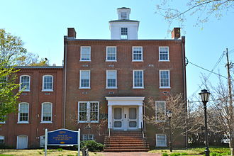 National Register of Historic Places listings in northern New Castle County, Delaware - Image: Newark Academy U Del Main St DE