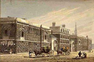 Newgate Prison - Newgate Prison, c. 1810