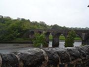 Old bridge in Newport, County Mayo