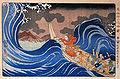 Nichiren calms a storm in Kakuda.jpg