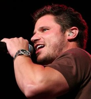 School for Creative and Performing Arts - Nick Lachey of 98 Degrees, co-creator of Taking the Stage, performs in 2006