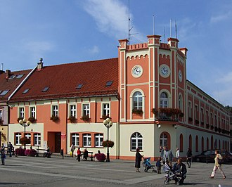 Mikołów - Market Square and Town Hall