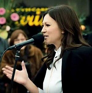 "Nina Badrić - Nina in ""Šlep šou"" in 2015"